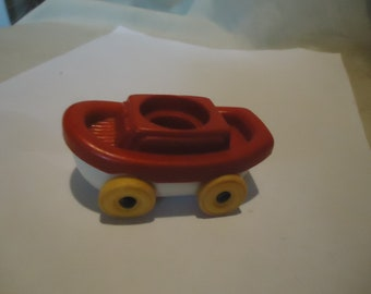 Vintage Illco Boat Toy Missing Pluto, collectable