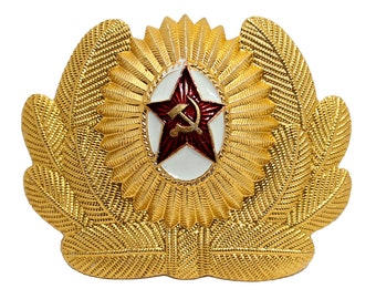 Military Cockade Officers Soviet Army hat pin badge