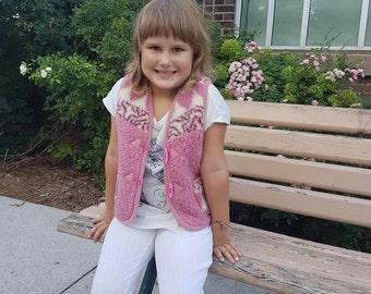 organic wear | kids vest | kids wear | woolen vest | kids clothing |handmade vest |kids gift