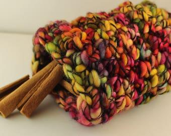 Rainbowfish Crochet Jar Cozy