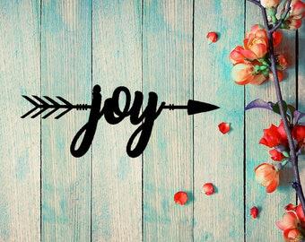 To the Heart of Joy Arrow Wall Art (C30)