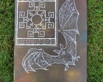 Chakana bat painting