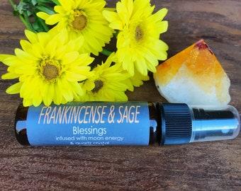 Frankincense & Sage ~ Blessings Aura Spray