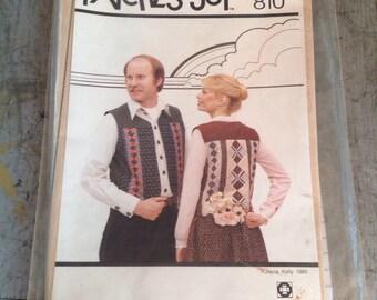 Vintage Patches of Joy Heidi Vest 810
