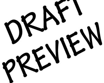 Draft Preview Add On