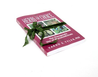 Herbs of Choice by Varro E. Tyler, PhD, Vintage Herb Book,Herbology, Herbalist, Medicinal Book, Holistic Book, Vintage Herb Book,Herbal Book