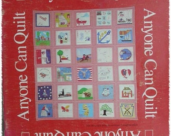 Anyone Can Quilt Pattern Book by Phoebe Edwards