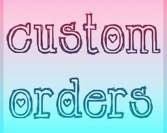Custom Adult Pacifier ABDL