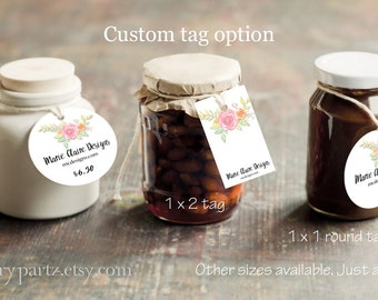 FLORAL KISS•Custom Tags•Labels•Earring Display•Clothing Tags•Custom Hang Tags•Boutique Card•Tags•Custom Tags•Custom Labels