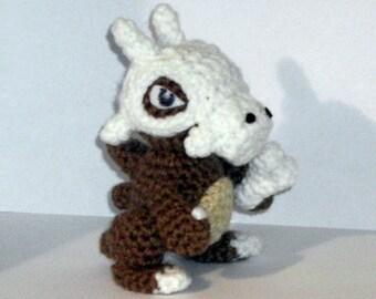 Cubone Crochet Plush