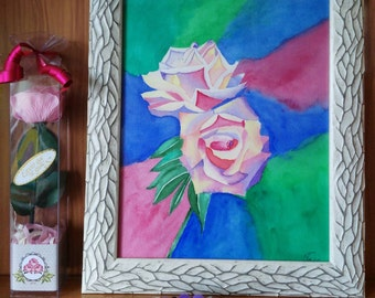 Original Watercolor Roses