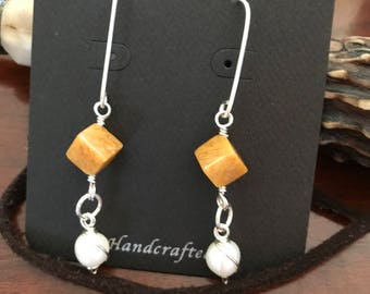 Honey quartz dangles