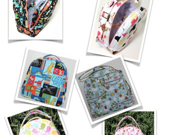 Lunch Bag | Carrying Case  (Style A) -  (Made-To-Order)