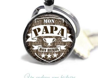 Keychain dad - father's day gift, birthday #35