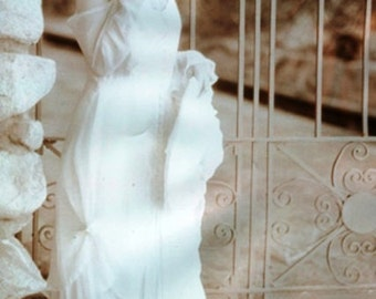 Isadora Duncan wedding dress.