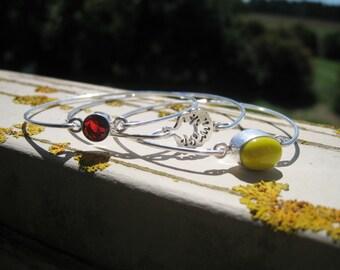 AMITY FACTION inspired set of 3 bangle bracelets