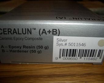 Sale 25%-Swarovski CeralunTM-Silver-2x 50gr
