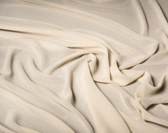 Silk 100% crepe de chine fabric