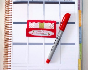 Page Flags | Cherry themed |  polka dots