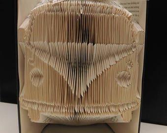 camper book fold
