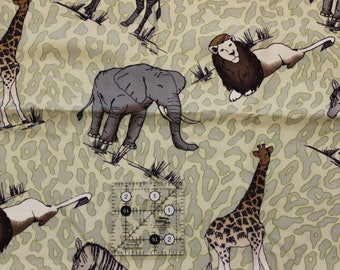 "Safari polyester blend? fabric  54"" wide"