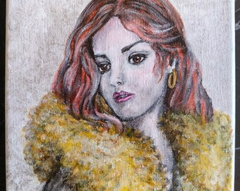 Sheek Woman's Portrait