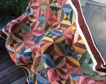 Scrappy Patchwork Quilt