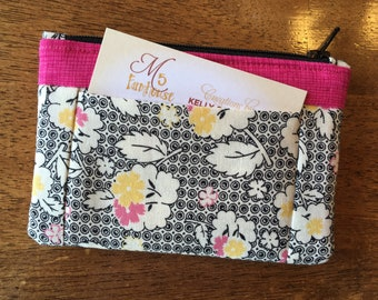 Wallet / Coin Purse *With side pockets!