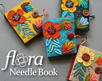 Flora Needle Book PDF pattern