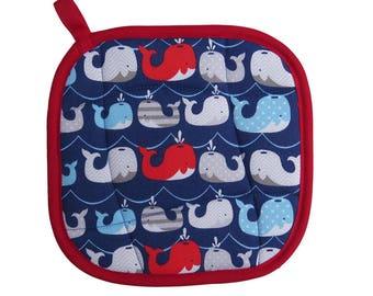 Whales Pot Holder
