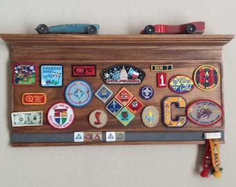 Cub Scout Memories Shelf / Plaque