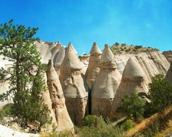 New Mexico Photography, Southwest Art, Vintage Landscape Art, Vintage Landscape Photography, Tent Rocks Art, Geology Art Southwestern Photos