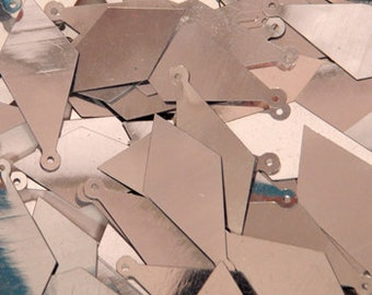 75 Sequins METALLIC.........Silver Color / KBIS158
