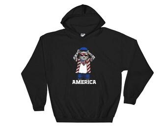 Cat sweater cat hoodie Cat shirt cat shirts cat lady gifts - cat america Hoodie