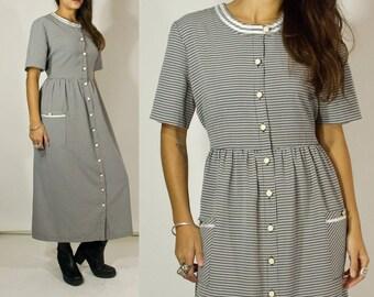 90s Prairie dress. Gingham.