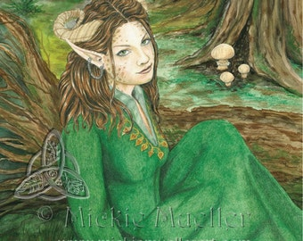 Lady of the Forest Open Edition Print
