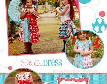 Izzy & Ivy Girls Stella dress pattern