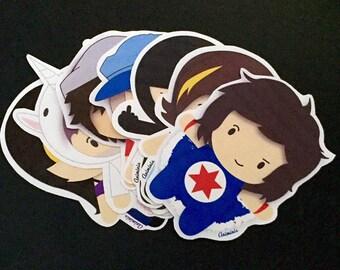 Game Grumps (Sticker Set)