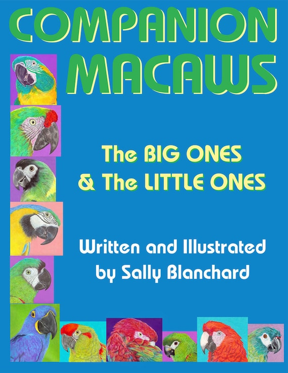 Companion Macaws: The Big Ones and the Little Ones  .pdf Written and Illustrated by Sally Blanchard