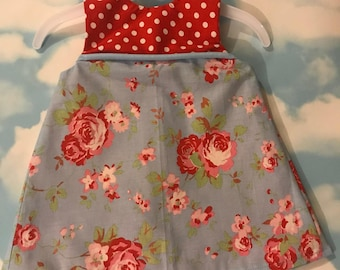 Baby fully reversible dress/pinafore