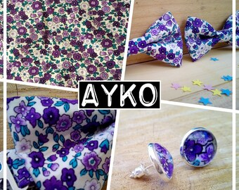 """Collection """"AYKO"""" bow tie baby - child - teen adult liberty"""