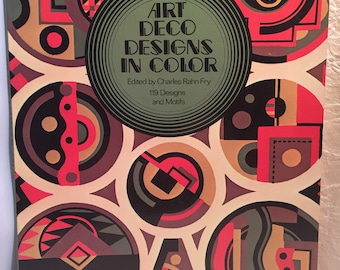 Art Deco Designs in Color 1975