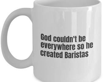 Barista funny mug, Barista funny mug, Barista, gift idea