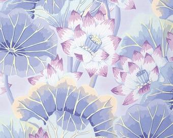 1/2 yard Lake Blossoms Sky  Kaffe Fassett  fabric  GP93