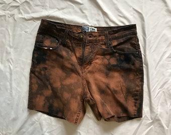 Bleached Cutoff Shorts - Womens 8