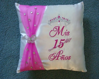 Quinceanera Pillow 16 x 16 inch