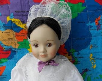 Porcelain doll for adoption - Zelda
