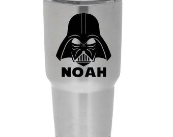 Personalized Star Wars Decal ~ Monogrammed Darth Vader Decal ~ Personalized Decal ~ Vinyl Decal ~ Wall Decal ~ Car Decal