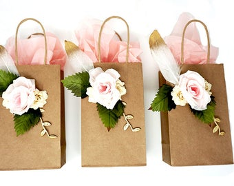 Boho Chic Gift Bags