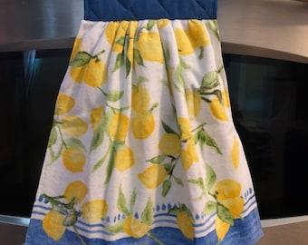 Lemon Hanging Kitchen Towel